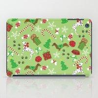 Christmas Pups iPad Case