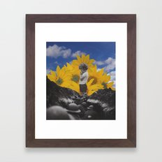 The Trenches Framed Art Print