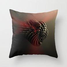Cyborg Heart Throw Pillow