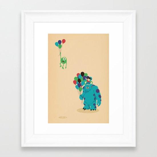 Mike Wazowski! Framed Art Print