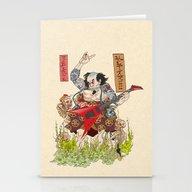 Metaruu! Stationery Cards