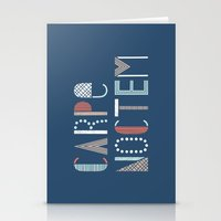 Carpe Noctem Stationery Cards