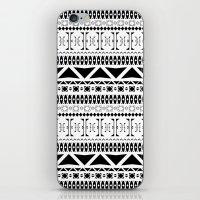 Black & White Pattern iPhone & iPod Skin