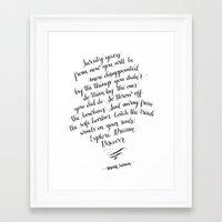 Explore. Dream. Discover. Framed Art Print