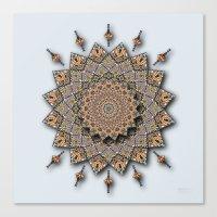 Southwest Art Mandala Canvas Print