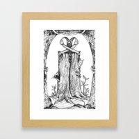 Haunted Clothing- The Et… Framed Art Print