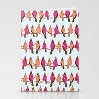 Cardinal Party Line Stationery Cards