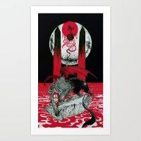 The Messenger (Ainigma) Art Print