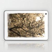 Tree Of Hearts - Sepia Laptop & iPad Skin