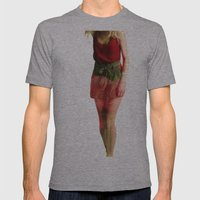 Ruby Love Mens Fitted Tee Athletic Grey SMALL
