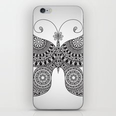 Drawn Butterfly iPhone & iPod Skin
