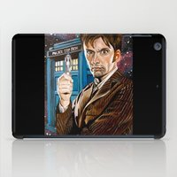 The Tenth Doctor and His TARDIS iPad Case