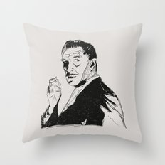Vincent Price Throw Pillow