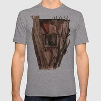 Barn window Mens Fitted Tee Athletic Grey SMALL