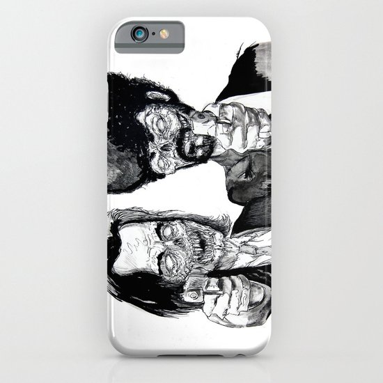 Zombie Fiction iPhone & iPod Case