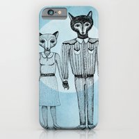 Fox and Wolf iPhone 6 Slim Case