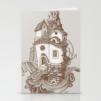 Crystal Mountain - 2 Stationery Cards