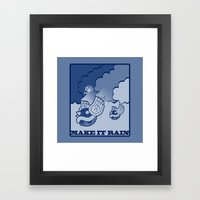 Make It Rain Framed Art Print