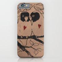 Love Birds iPhone 6 Slim Case