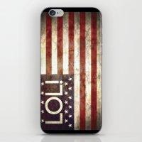 Star spangled LOL iPhone & iPod Skin
