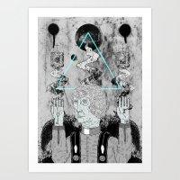 FALSE PROPHETS II Art Print