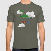 Paraturtle Mens Fitted Tee Lieutenant SMALL
