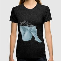 72.8 Percent Water Womens Fitted Tee Tri-Black SMALL