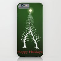 Christmas Tree Intertwined - painting iPhone 6 Slim Case