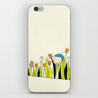 Flower Dress iPhone & iPod Skin