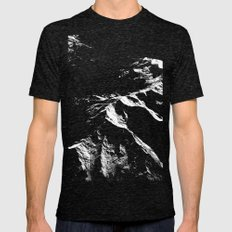 Topographics Mens Fitted Tee Tri-Black SMALL