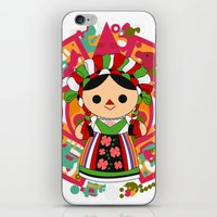 Maria 5 (Mexican Doll) iPhone & iPod Skin