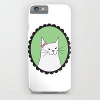 White Kitty iPhone 6 Slim Case
