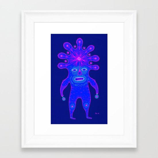 c o l o r  Framed Art Print