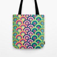 Circle Colors Tote Bag
