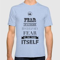 Hp Quotes: Philosophers … Mens Fitted Tee Tri-Blue SMALL