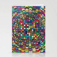 Focus Geometric Art Print. Stationery Cards