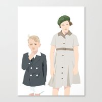 Ginny and Charles on the Boat Canvas Print