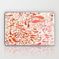 Koi - Coral & White Laptop & iPad Skin