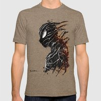 Web Of Shadows Mens Fitted Tee Tri-Coffee SMALL