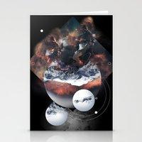 Crystal Nebula Stationery Cards