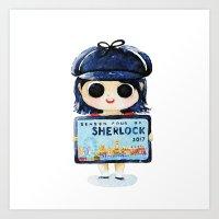 Sherlock 4 On 2017 Art Print