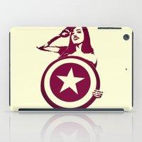 Captain Girl America iPad Case