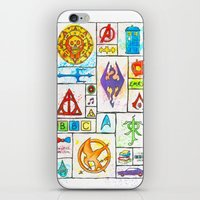 Fandoms iPhone & iPod Skin
