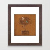 Songbirds Framed Art Print