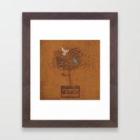 songbirds Framed Art Print