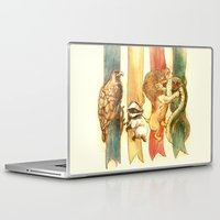 harry potter Laptop & iPad Skins featuring House Brawl by Alice X. Zhang