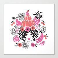 Jelly Miranda - Berry Ch… Canvas Print