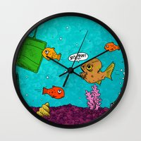 Admiral Ackbar It's A Tr… Wall Clock