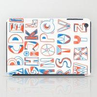 PlayFull Alphabet iPad Case