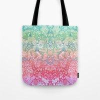 Soft Pastel Rainbow Dood… Tote Bag